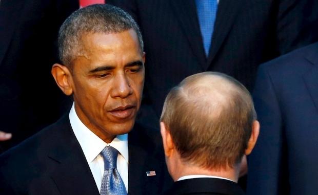 Обама під час зустрічі з Путіним на G20 закликав вивести війська з України