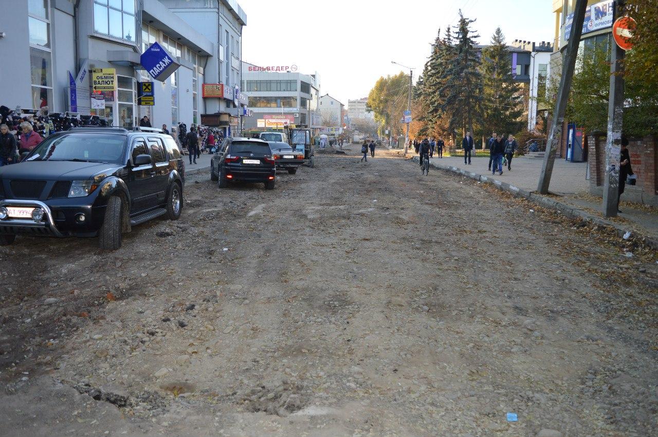 Через недолугість та кволість комунальних служб гальмується ремонт дороги на Тичини