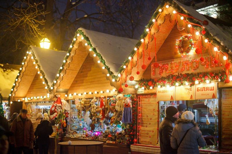 Новорічно-Різдвяний ярмарок на Вічевому майдані відкриють 12 грудня