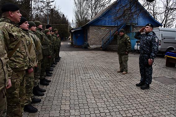 """За місяць бійці батальйону """"Івано-Франківськ"""" провели 116 затримань в Маріуполі"""