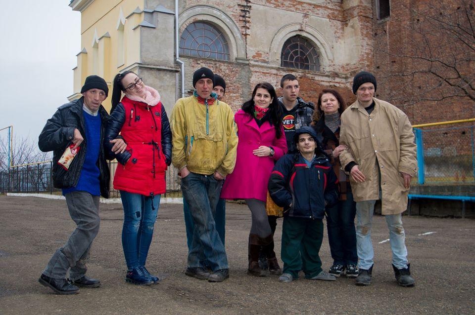 Франківські благодійники відвідали вихованців Залучанського інтернату (фото+відео)