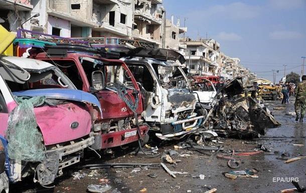 Жертвами терактів в Хомсі і Дамаску стали 155 осіб