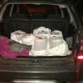 Копи випадково виявили в автівці франківчанина 66 літрів спирту