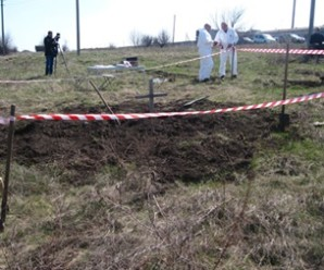На Донеччині знайшли масове поховання бойовиків «ДНР»