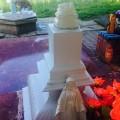 Вандали розбили статуетку Богородиці біля джерела на міському озері (ФОТОФАКТ)