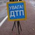 На Прикарпатті автівка влетіла в рекламний щит