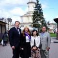 На Прикарпаття приїхав Надзвичайний і Повноважний Посол Японії в Україні
