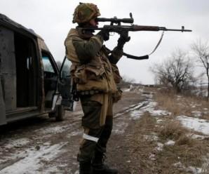 Минулої доби бойовики 12 разів обстрілювали позиції сил АТО