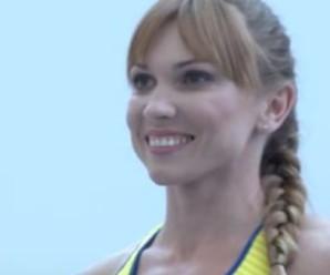 Спортсменка з Угринева приміряла нову олімпійську форму (ВІДЕО)