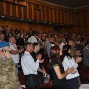 Ветерани АТО пояснили, чому жбурнули нагороди у мера Івано-Франківська. ВІДЕО