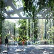 У цьому готелі замість кімнатних квітів росте цілий тропічний ліс