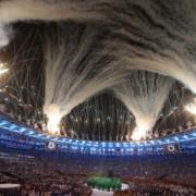 Грандіозне відкриття Олімпіади в Ріо. Фоторепортаж
