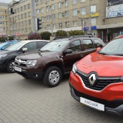 В середмісті Івано-Франківська представили новинки світового автопрому (фото)