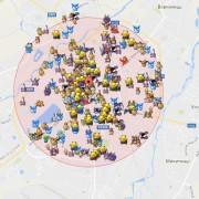 В Івано-Франківську програмісти оновили карту з Покемонами свого міста (фото).