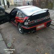 В Івано-Франківську патрульні оштрафували нетверезого учасника автомобільних змагань (ФОТО)