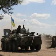 Один з переданих військовим до Дня захисника України Порошенком БТР потрапив у ДТП – ЗМІ