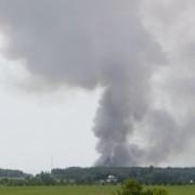 Калуш оповив дим із неприємним запахом. Люди скаржаться на нездужання
