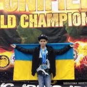 Юний франківець переміг на чемпіонаті світу з кікбоксингу та їде тренуватися в Таїланд (ФОТО)