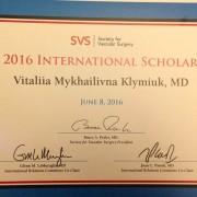 Франківчанка виграла грант від світової Асоціації судинних хірургів (фото)