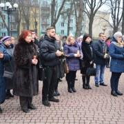 В Івано-Франківську запалили свічку пам'яті про жертв Голодомору (фото+відео)
