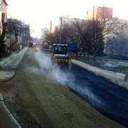 У Франківську ремонтували вулицю Військових (фото)
