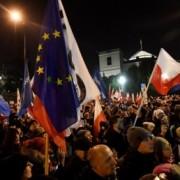 У Польщі понад 2 тисячі протестувальників блокували будівлю Сейму