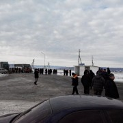 Активісти перекрили дорогу між Надвірною та Івано-Франківськом (ФОТО)