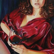 Секрет жіночого довголіття в келиху вина