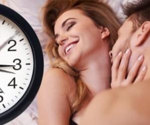 Ідеальна тривалість сексу: висновки вчених