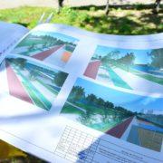 В Івано-Франківську розпочали масштабну реконструкцію території міського озера (фото+проект)
