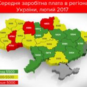 Де в Україні найвищі зарплати: інфографіка