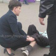 Каже просто зачепила??? З'явилися відео, як авто Савченко збило стареньку (відео)