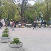 Центр Франківська перетворюється на базар (фото)