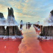 Вода тут має особливо лікувальні властивості! Сиваш – найсолоніше озеро України
