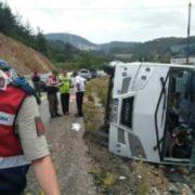 В Туреччині розбився автобус з українськими туристами (відео)