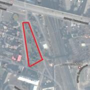 Франківцям показали, яким буде багаторівневий паркінг біля залізничного моста. ФОТО