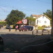 В Угринові на перехресті сталася ДТП – одна людина в лікарні. ФОТО