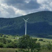На Прикарпатті будують вітрову електростанцію