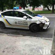 ДТП за участю поліції в Івано-Франківську: винуватець аварії – патрульний. ФОТО