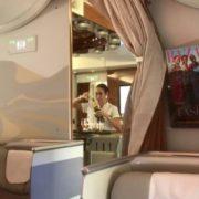 Ганебний випадок у відомій авіакомпанії зафіксували на відео