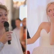 Мамина мова на весіллі змусила гостей плакати. Будь ласка, почуйте її мудрі слова! (фото)