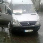 В Івано-Франківську патрульні зняли з маршруту автобус, яким керував водій без документів