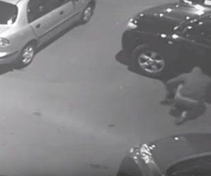 """Розстріл екс-глави """"Укрспирту"""": Нацполіція опублікувала відео роботи кілерів"""