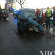 ДТП на Прикарпатті: В лобовому зіткненні постраждали шестеро осіб (фото)