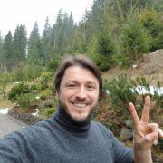 Сергій Притула разом з сім'єю проводить відпустку в Карпатах. ФОТО