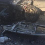 ДТП на Прикарпатті: мінівен врізався в автобус (фото)