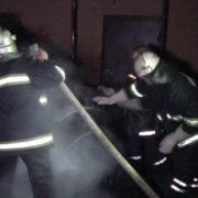 Цієї ночі трапилась пожежа у багатоповерхівці на Набережній