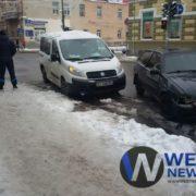 В центрі Івано-Франківська трапилась ДТП (фото)