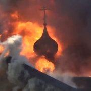 «Це церква сатани»: розправа над храмом МП розбурхала мережу