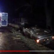 """Нові подробиці аварії в Загвізді: двоє чоловіків з """"Ауді"""", що перекинулась, були п'яними"""